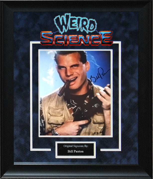 """Weird Science"" - Bill Paxton Signed 8x10 Photo"