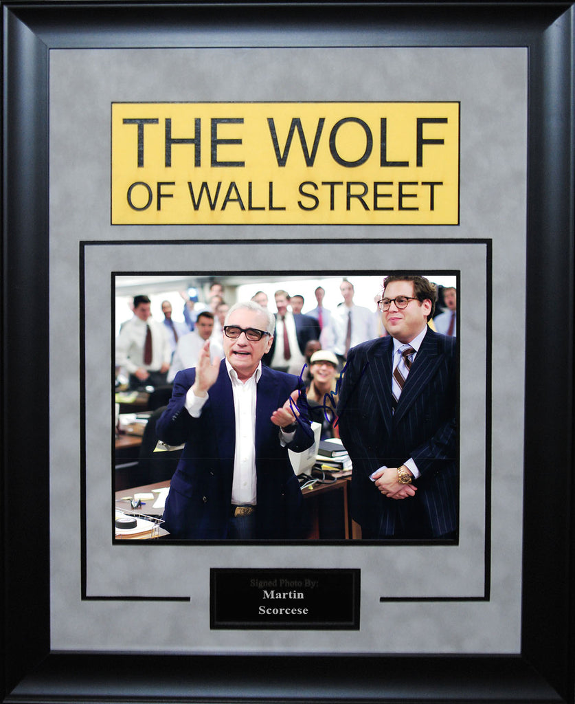 """The Wolf Of Wall Street"" - Martin Scorcese Signed 8x10 Photo"