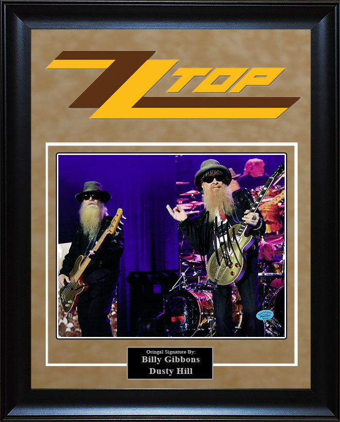 """ZZ Tops"" - Signed 8x10 Photo"