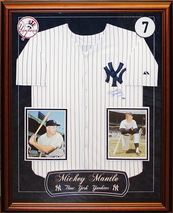 "New York ""Yankees"" - Mickey Mantle Signed Jersey"