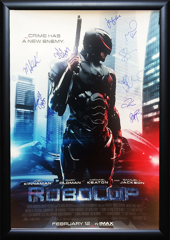 """Robocop"" (2014) Signed Movie Poster"