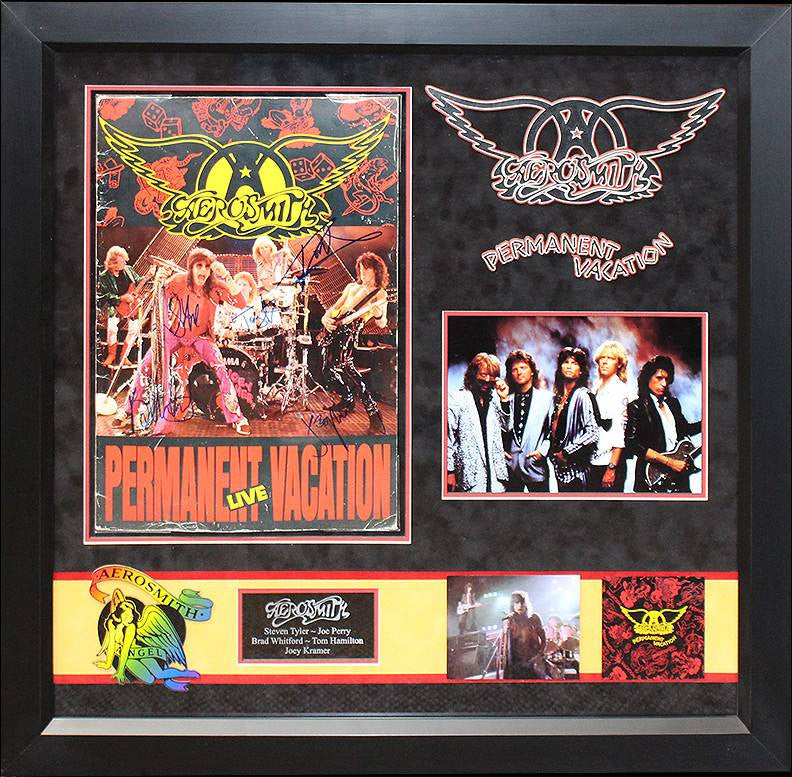 """Aerosmith"" Signed Permanent Vacation Program"