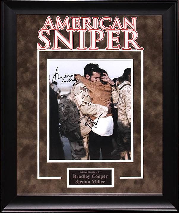 """American Sniper"" Signed 8x10 Photo"