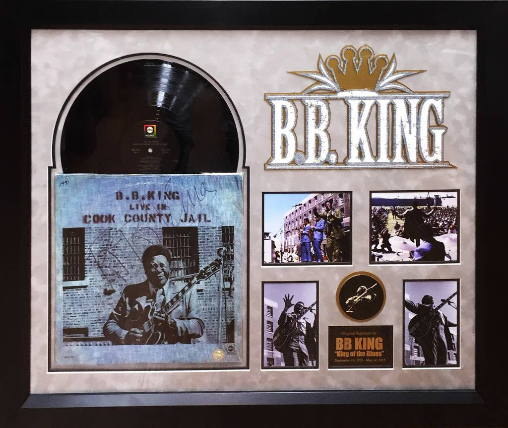 """BB King"" Live in Cook County Jail LP"