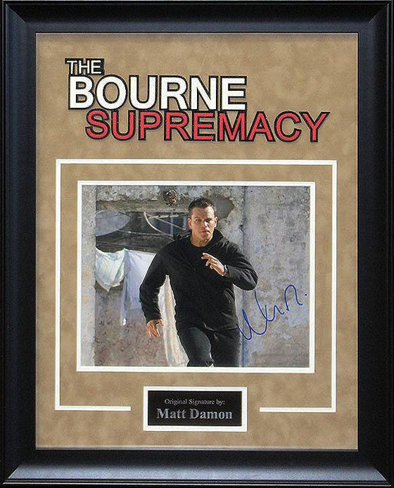 """Bourne Supremacy"" Damon 8x10 AS"