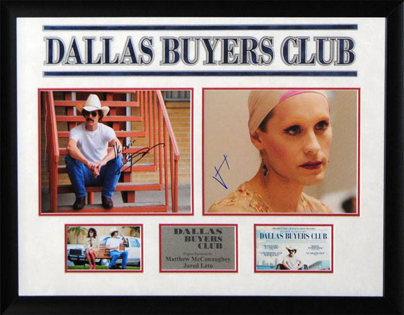 """Dallas Buyers Club"" Signed 8x10 Photos"