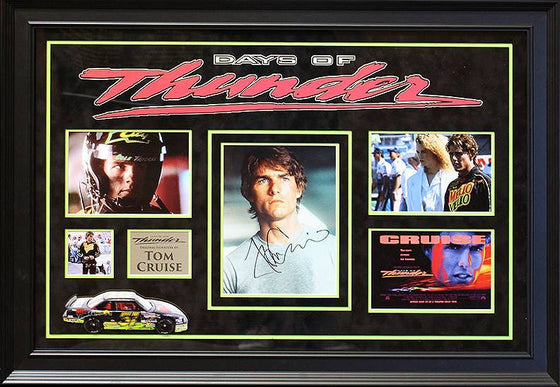"""Days of Thunder"" Signed 8x10 Photo Collage"