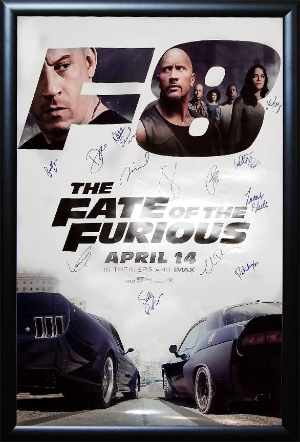 """Fate of the Furious"" cast poster uf"