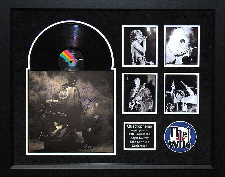 """The Who"" - Signed ""Quadrophenia"" LP"