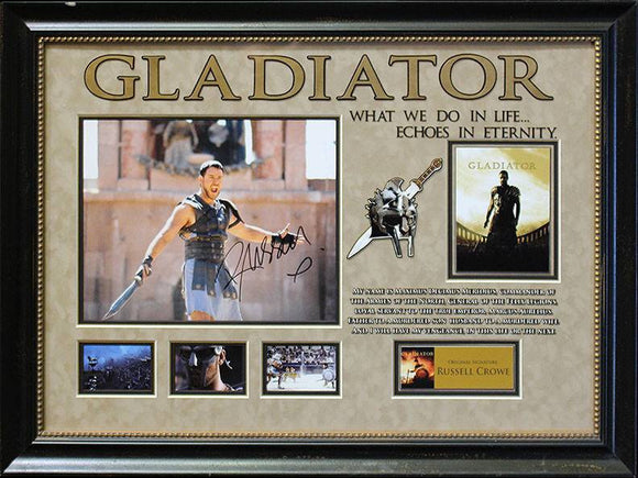 """Gladiator"" Signed 11x14 Photo"