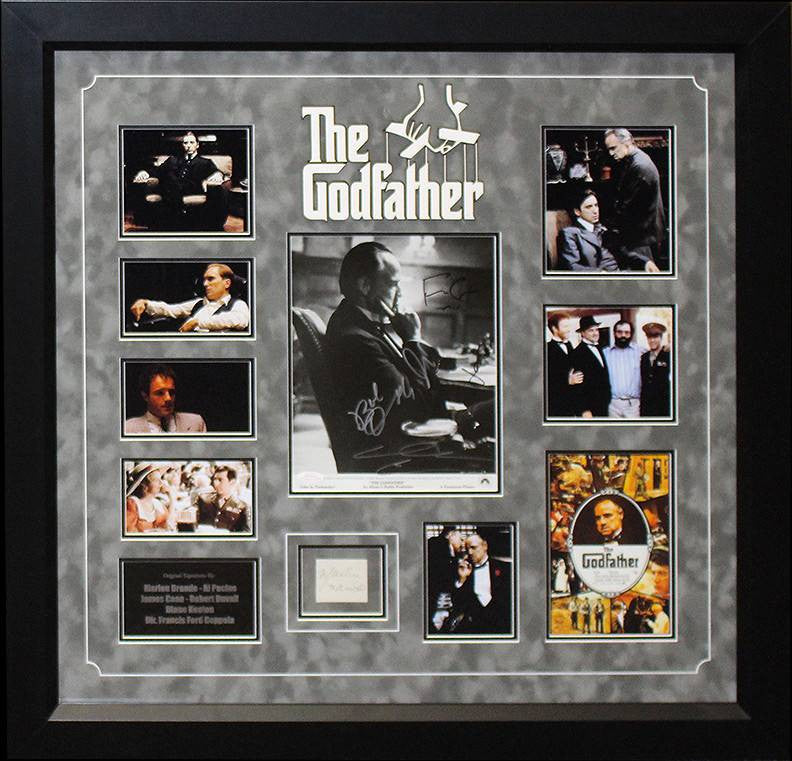 """Godfather"" Signed  8x10 Photo Collage"