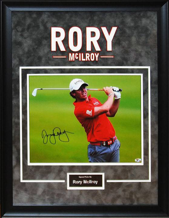 """Masters"" Rory McIlroy 11x14 AS"