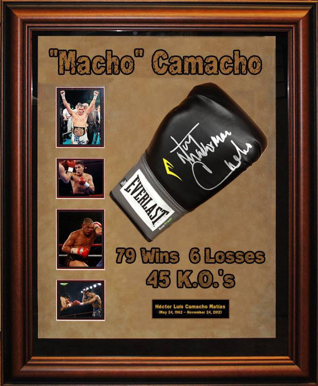 "Hector ""Macho"" Camacho Signed Boxing Glove"