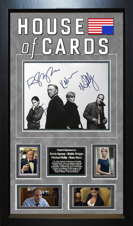 House of Cards - Cast Signed 8x10 Photo