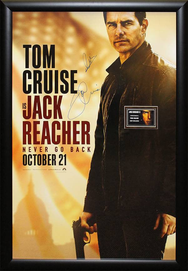 """Jack Reacher"" Signed Poster"