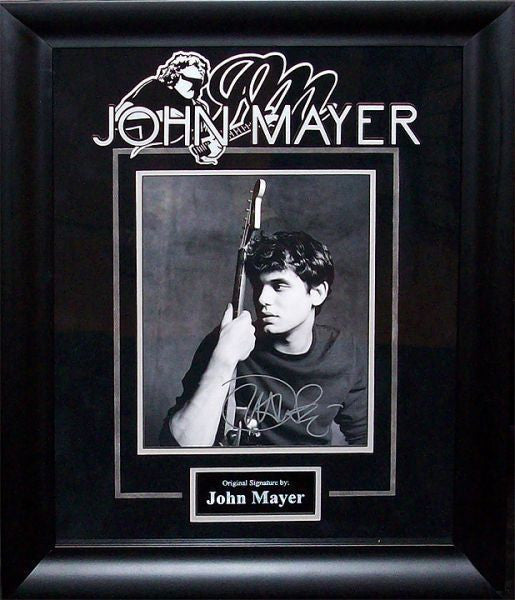 John Mayer Signed Photo