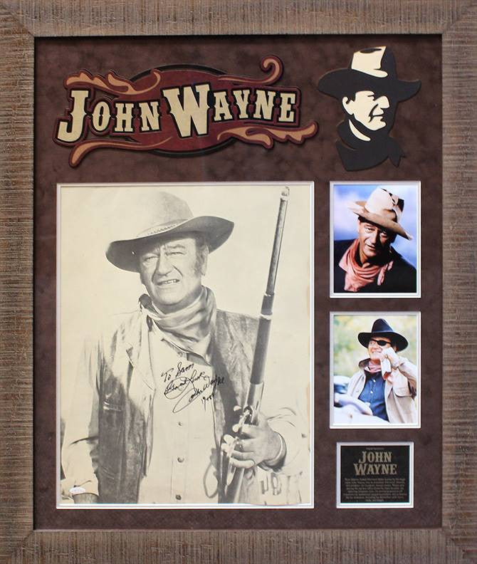 John Wayne 16x20 collage