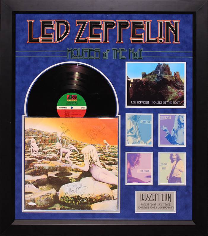 "Led Zeppelin Signed ""House of the Holy"" LP"