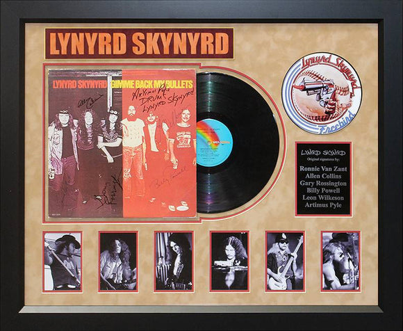"""Lynyrd Skynyrd"" Original Band signed Album"