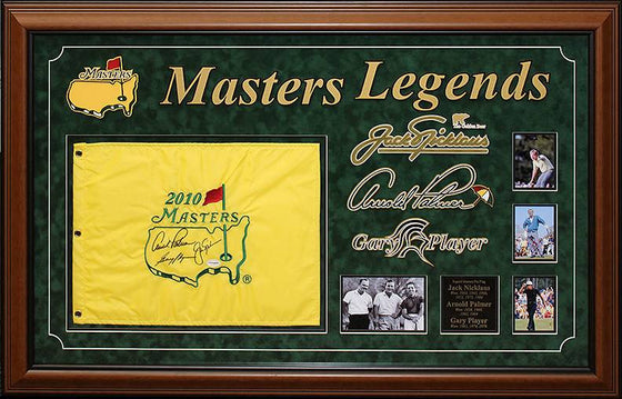 Masters - Signed Masters Pin Flag