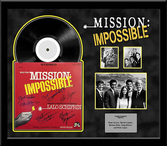 Mission Impossible - cast signed TV soundtrack