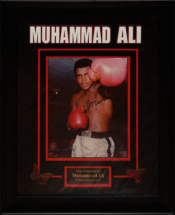 Muhammad Ali – Signed Photo