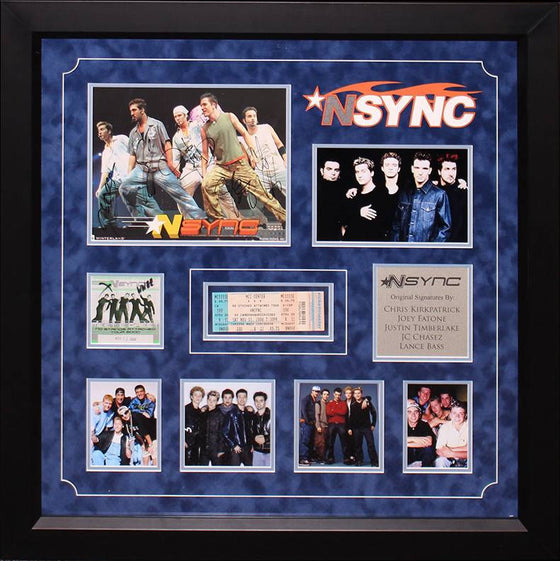 """N'Sync"" band 8x10 collage"