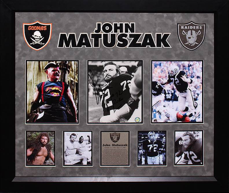 Oakland Raiders - John Matuszak Signed 7x9 Photo