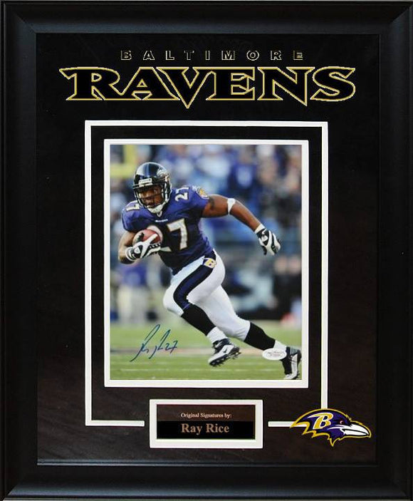 Baltimore Ravens – Ray Rice Signed 8x10 Photo