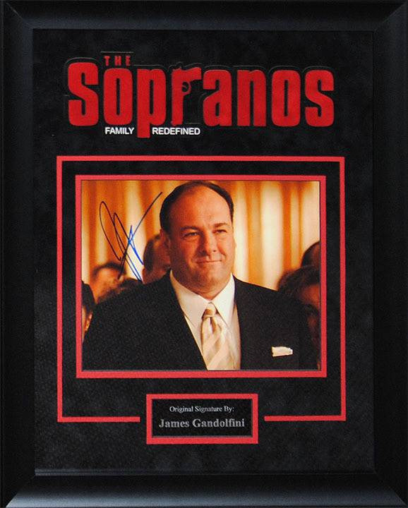 The Sopranos – James Gandolfini Signed Photo