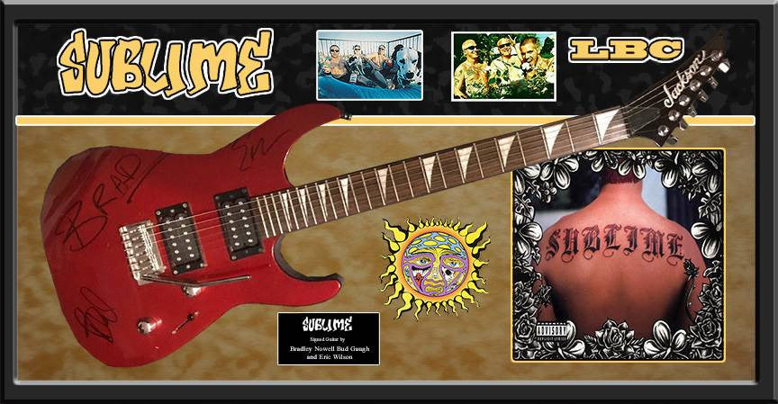 """Sublime"" - Red Jackson guitar"