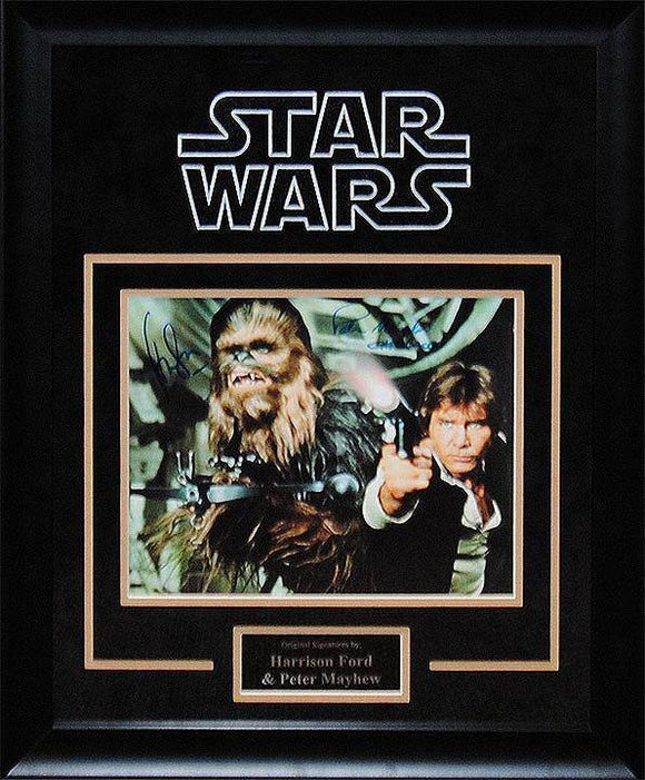 """Star Wars"" Ford/Mayhew Signed 8x10 Photo"