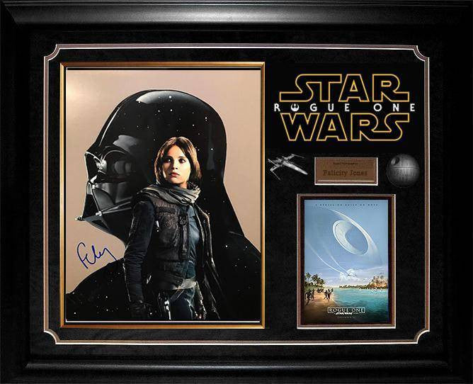 """Rogue One: A Star Wars Story"" Felicity Jones signed Photo"