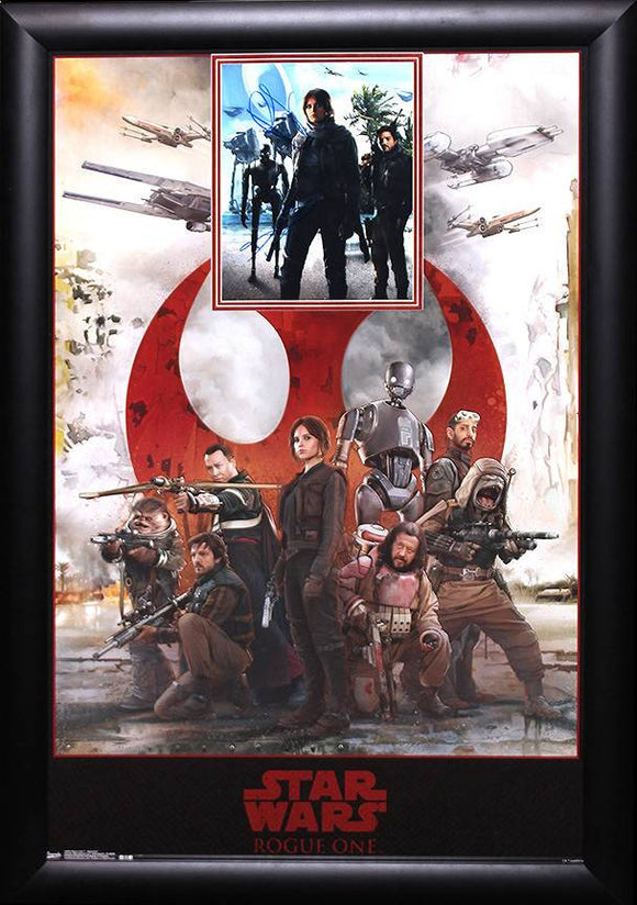 """Star Wars: Rougue One"" Signed 8x10 Poster Combo"