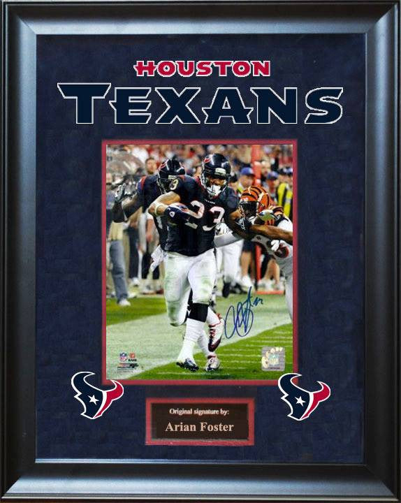 Houston Texans – Arian Foster Signed Photo
