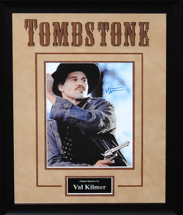 """Tombstone"" – Val Kilmer Signed 8x10 Photo"