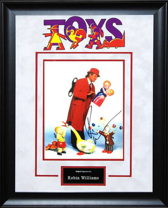 Toys - Robin Williams 8x10 signed photo