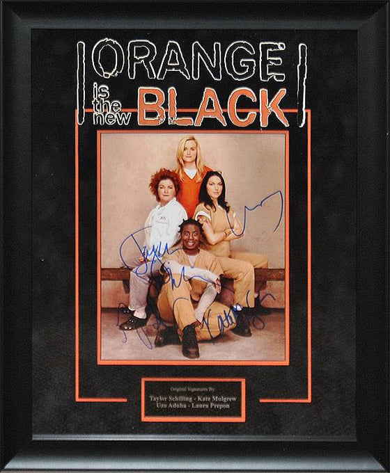 """Orange is the New Black"" - 8x10 cast signed photo"