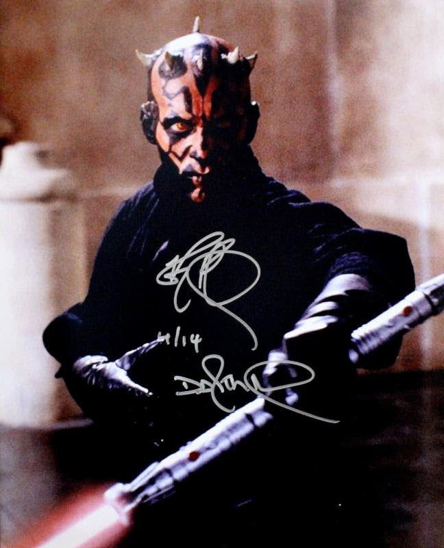 """Star Wars: Phantom Menace"" - Ray Park Signed 16x20 Photo (Unframed) (Option 1)"