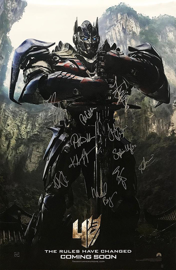 """Transformers: Extinction"" - Original signed Poster (Unframed) (Option 2)"
