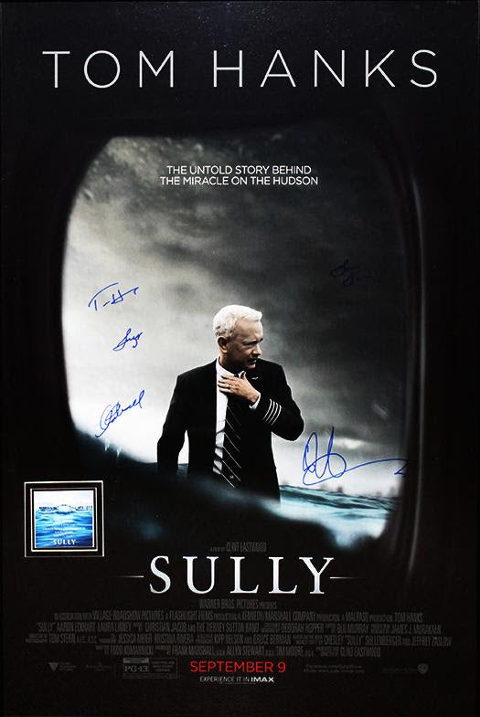 """Sully"" - Cast Signed Movie Poster (Unframed)"