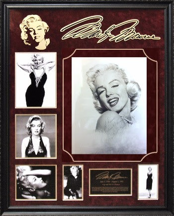 Marilyn Monroe Signed 8x10 Photo