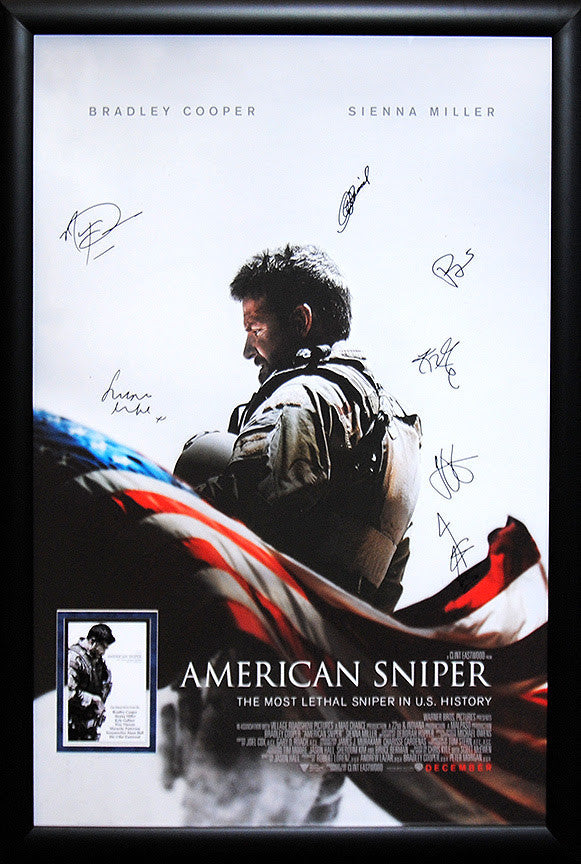 """American Sniper"" Signed Movie Poster"