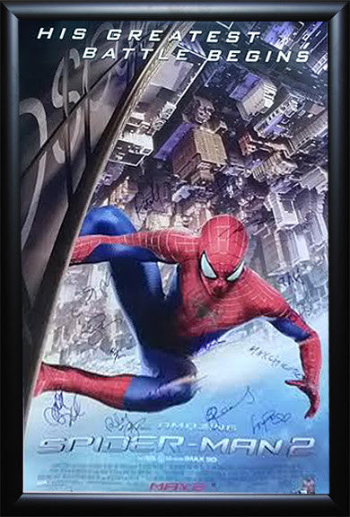 """Amazing Spiderman 2"" Signed Movie Poster"