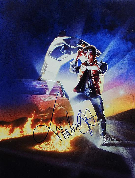 """Back to the Future"" - Signed 16x20 Photo (Unframed)"