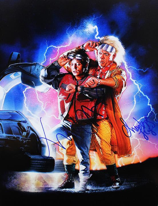 """Back to the Future II"" - Signed 16x20 Photo (Unframed)"