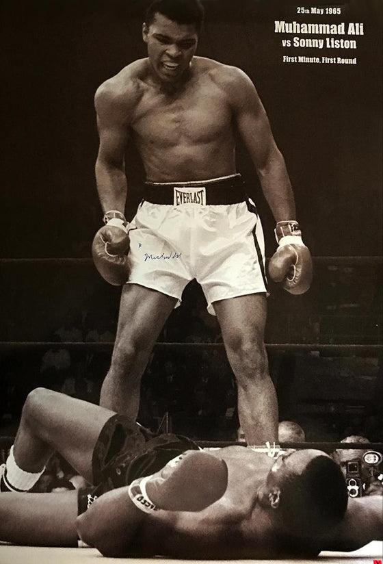 """Phantom Punch"" - Muhammad Ali signed Poster (Unframed)"