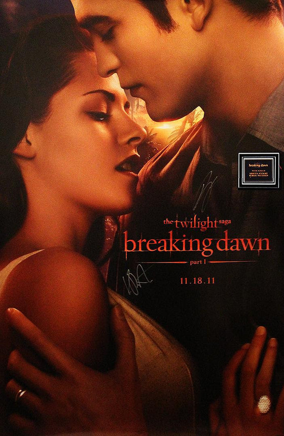 """Twilight: Breaking Dawn"" - Cast signed Poster (Unframed)"
