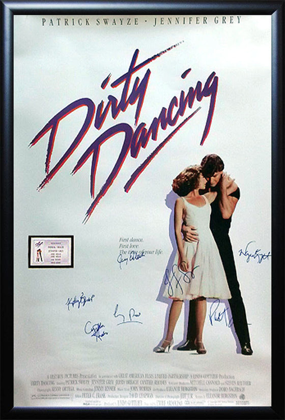 """Dirty Dancing"" Signed Movie Poster"