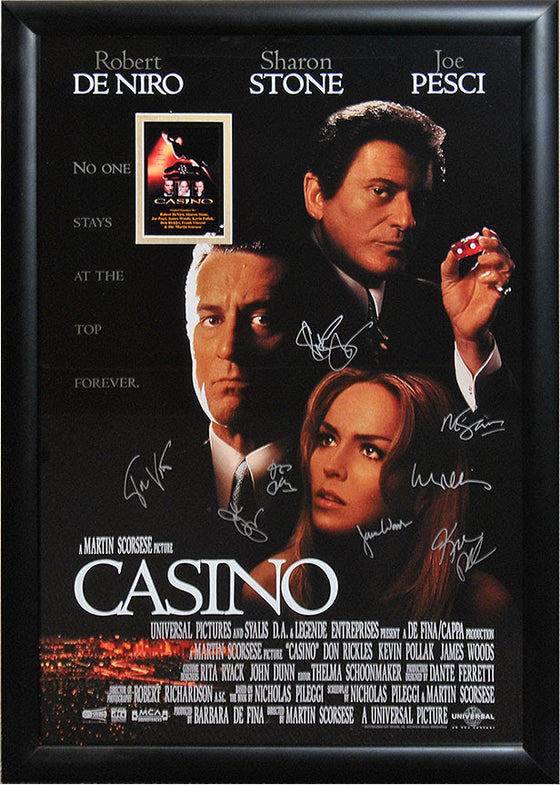 """Casino"" Signed Movie Poster"